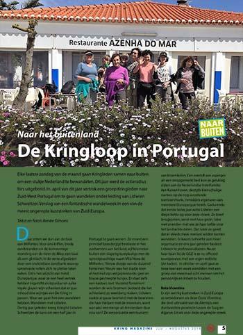 Klik hier voor een artikel over Samen Wandelen In Portugal in het Kring Magazine van juli/augustus 2018 (PDF)